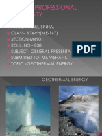 38251690 Geothermal Energy PPT