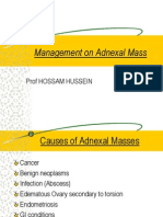 Management on Adnexal Mass