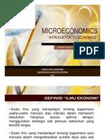 EK4220 Ekonomi MIKRO (Gasal 2011-2012) Bab 1