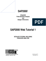 SAP2000 Integrated Finite Elements Analysis and Design of Structures