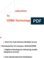 Cdma Technology Seminar Ppt Way2project In