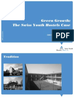 World Tourism Forum Lucerne 2013_Green Growth_The Swiss Youth Hostels Case