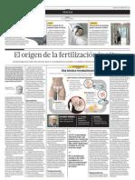 El origen dela fertilización in vitro