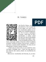 Gomez Carrillo El Tango