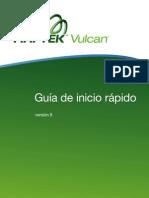 Vulcan 8 Quickstart Guide Spanish