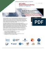 Print - FAPESP __ IPCC SREX Regional Outreach Meeting - São Paulo, 16-17 August 2012
