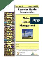 Natural Resource Management 116165 Learner Guide