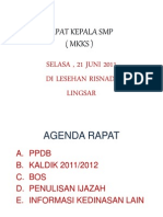 Rapat Ks Smp 21 06 11