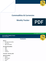 Commodities Weekly Tracker, 22nd April 2013