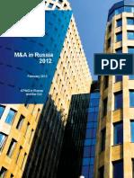 Russia M&A