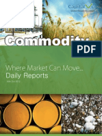 Daily Commodity Report