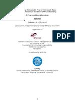 Peacebuilding Workshop
