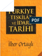 İlber Ortaylı - Türkiye Teşkilat ve İdare Tarihi.pdf