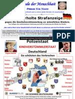 POLIZEISTAAT - KINDERVERSTÜMMLERSTAAT DEUTSCHLAND