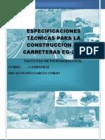 02.00 Especificaciones Tecnicas Generales Para La Construccion de Carreteras - Eg2000