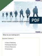 Nitco Executive Trainee Program