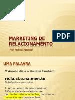 MARKETING DE RELACIONAMENTO - Uma introdução