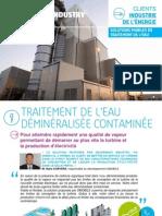 FR - Unités mobiles - Retour d'expérience client industrie de l'énergie - Degrémont Industry