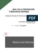 Mod II Medios de Defensa