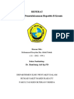 Diagnosis & Penatalaksanaan Hepatitis B