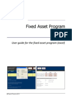 Fixed Asset Manual