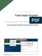 Fixed Asset Manual