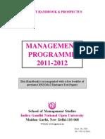 IGNOU Management 2011 12