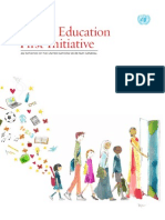 GLOBAL EDUCATION FIRST INITIATIVE