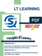 5. Adult Learning