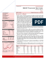 Mahndra Finance - Initiation Jan 10
