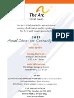 Award Invite