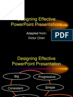 Designing Effective Presentation