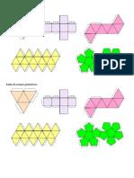 Redes de Cuerpos Geometricos Regulares
