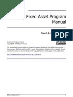 Fixed Asset Disposals