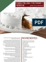 Torta Bizcochuelo y Manjar