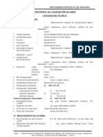 Informe de Liquidacion Saneamiento