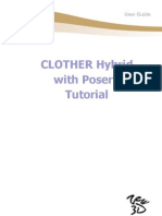 CLOTHER Hybrid with Poser7 Tutorial