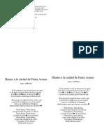 Himno a La Ciudad de Punta Arenas