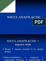 Soc Anafilactic