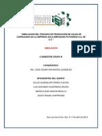 PROYECTO DE SIMULACIÓN