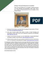 Report on Ambedkar Jayanti