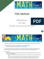 bruss foil method