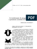 Ferdinando Figueiredo - As transformações do pós-guerra e o pensamento econômico da CEPAL