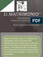 Clase 20 Octubre El MATRIMONIO