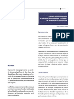 Estudio bioestratégico de San Juan de Guadalupe, Durango, de acuerdo a su paleofauna