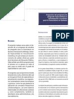 Propuesta del programa de posgrado Especialidad en Actualización Cosmética para la licenciatura en Químico Farmacéutico Biólogo