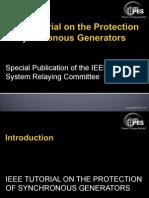 Generator Protection Tutorial
