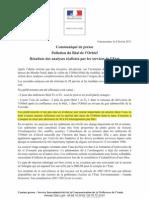 226 préfet 8 février 2013 communiqué presse - Beal Orbiel