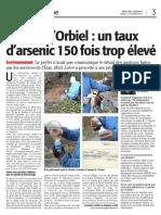 227 midi libre 12 février 2013 pollution béal - mensonges préfet