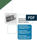 Feedback User Manual d e f